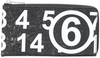 MM6 MAISON MARGIELA Number Print Wallet