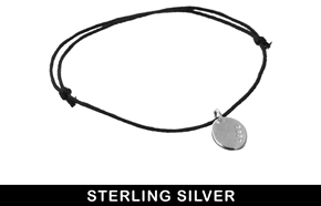 Asos & Wear That There Sterling Silver 'Love' Friendship Bracelet - Silver