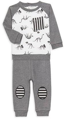 Pl Baby Baby Boy's 2-Piece Cotton-Blend Top & Pants Set