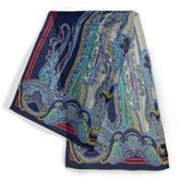 Etro Paisley-Printed Silk-Blend Scarf