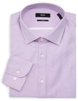 f2ddcf5ea Hugo Boss Fitted Dress Shirt - ShopStyle