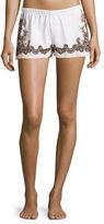 Commando Antique Lace-Print Boxer Shorts