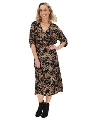 Vero Moda Printed Wrap Dress