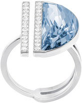 Swarovski Glow Ring, Blue