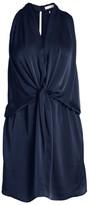 Ramy Brook Marie Draped Satin Mini Dress