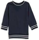 Toddler Boy's Bardot Junior Stripe Pique Sweater