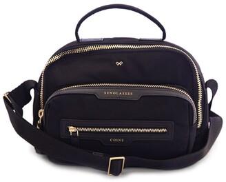 Anya Hindmarch Multi-Pocket Nylon Cross-Body Bag