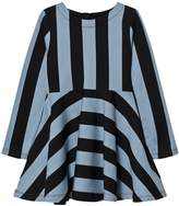 Molo Faded Denim Stripe Carmen Dress