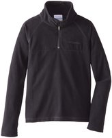 Columbia Glacial Half Zip Jacket (Kid) - Groovy Pink-Medium