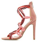 Charlotte Russe Strappy Rope Dress Sandals