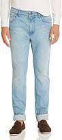 Eidos Five Pocket Slim Fit Jeans in Light Wash