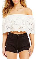 Chelsea & Violet Off-the-Shoulder Top