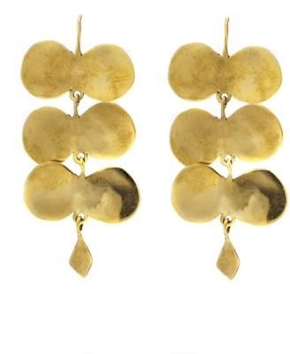 ARIANA BOUSSARD-REIFEL Palomas Earrings - Brass