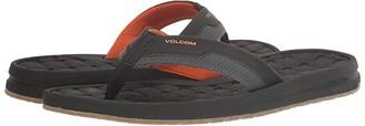 Volcom E-Cliner Sandal (Black) Men's Shoes