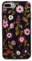 Kate Spade Jeweled - In Bloom Iphone 7/8 & 7/8 Plus Case - Black