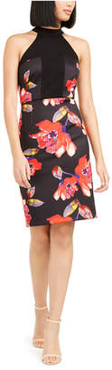 Trina Turk Trina Kathleen Floral-Print Bodycon Dress