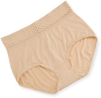 Wacoal Subtle Beauty Lace-Trim Bikini Briefs