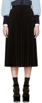 Marc Jacobs Black Pleated Skirt