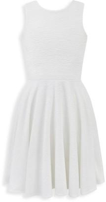 David Charles Girl's Bow Back Dress