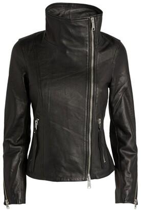 AllSaints Ellis High-Neck Biker Jacket