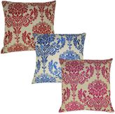 Bed Bath & Beyond French Damask Embroidered Square Throw Pillow