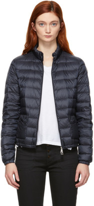 Moncler Navy Down Lans Jacket