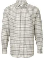 Gieves & Hawkes long sleeved checked shirt