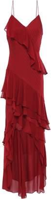 Haute Hippie Ruffled Tiered Silk-georgette Dress