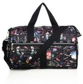Le Sport Sac CR Large Floral Weekender Bag