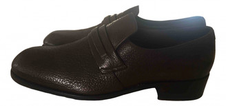 Tom Ford Brown Leather Flats