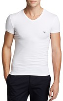 Emporio Armani Classic Eagle V-Neck T-Shirt
