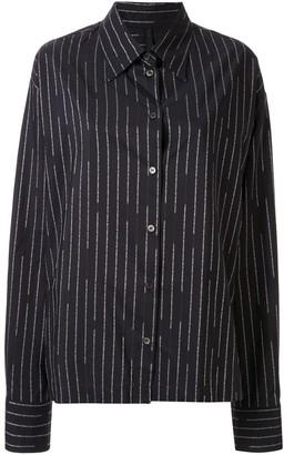 Unravel Project Logo-Stripe Shirt
