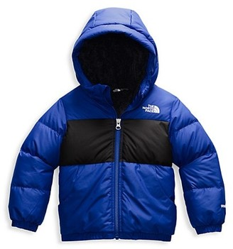 The North Face Little Boy's Moondoggy Hoodie Two-Tone Puffer Jacket