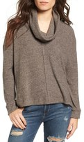 Lush Brushed Cowl Neck Pullover