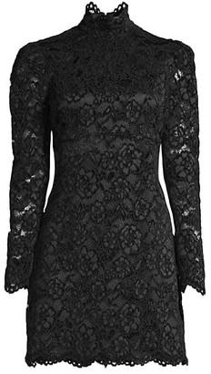 LIKELY Cupani Lace Mini Dress