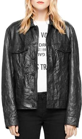 Zadig & Voltaire Kase Leather Jacket