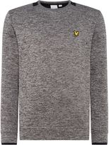Lyle & Scott Men's Melange fleece crew neck