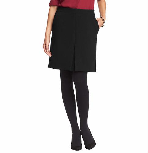 LOFT Pleat Front Shift Skirt in Mid Weight Scuba