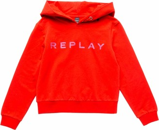 Replay Girl's Sg2089.010.20238 Hoodie
