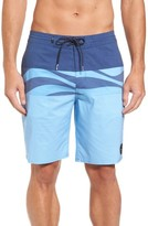 Quiksilver Men's Heatwave Blocked Board Shorts