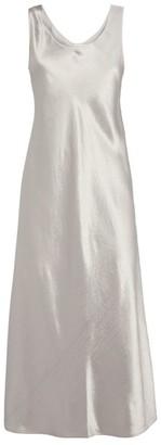 Max Mara Metallic Slip Dress
