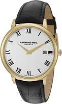 Raymond Weil Men's 5588-PC-00300 Analog Display Quartz Black Watch