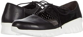 Naot Footwear Ophelia (Soft Black Leather/Black Suede Perforated/Black Velvet Nubuck) Women's Shoes