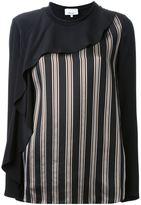 3.1 Phillip Lim cascading striped blouse