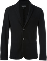 Emporio Armani button up blazer - men - Cotton/Polyamide/Spandex/Elastane - L