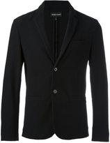 Emporio Armani button up blazer - men - Cotton/Polyamide/Spandex/Elastane - S