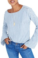 Madewell Women's Convertible Cold Shoulder Top