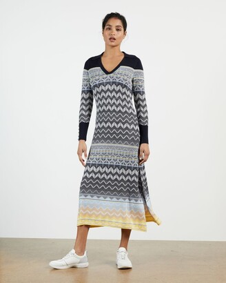 Ted Baker Easy Fit Jacquard Polo Dress