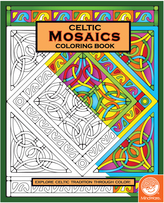 Celtic: Mosaics Coloring Book