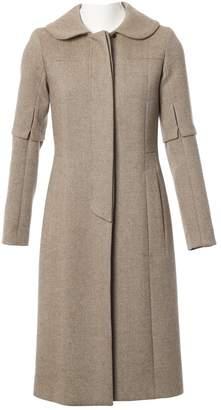 Louis Vuitton Beige Wool Coats